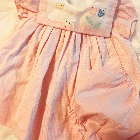 64c1fc1d7d476 Jayne Copeland Other - Jayne Copeland Baby Dress Sz 9 M